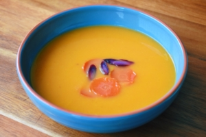 Fennel-Carrot Soup from World of Julia