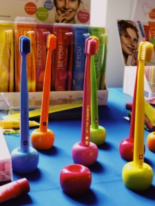 CURAPROX colourful toothbrushes