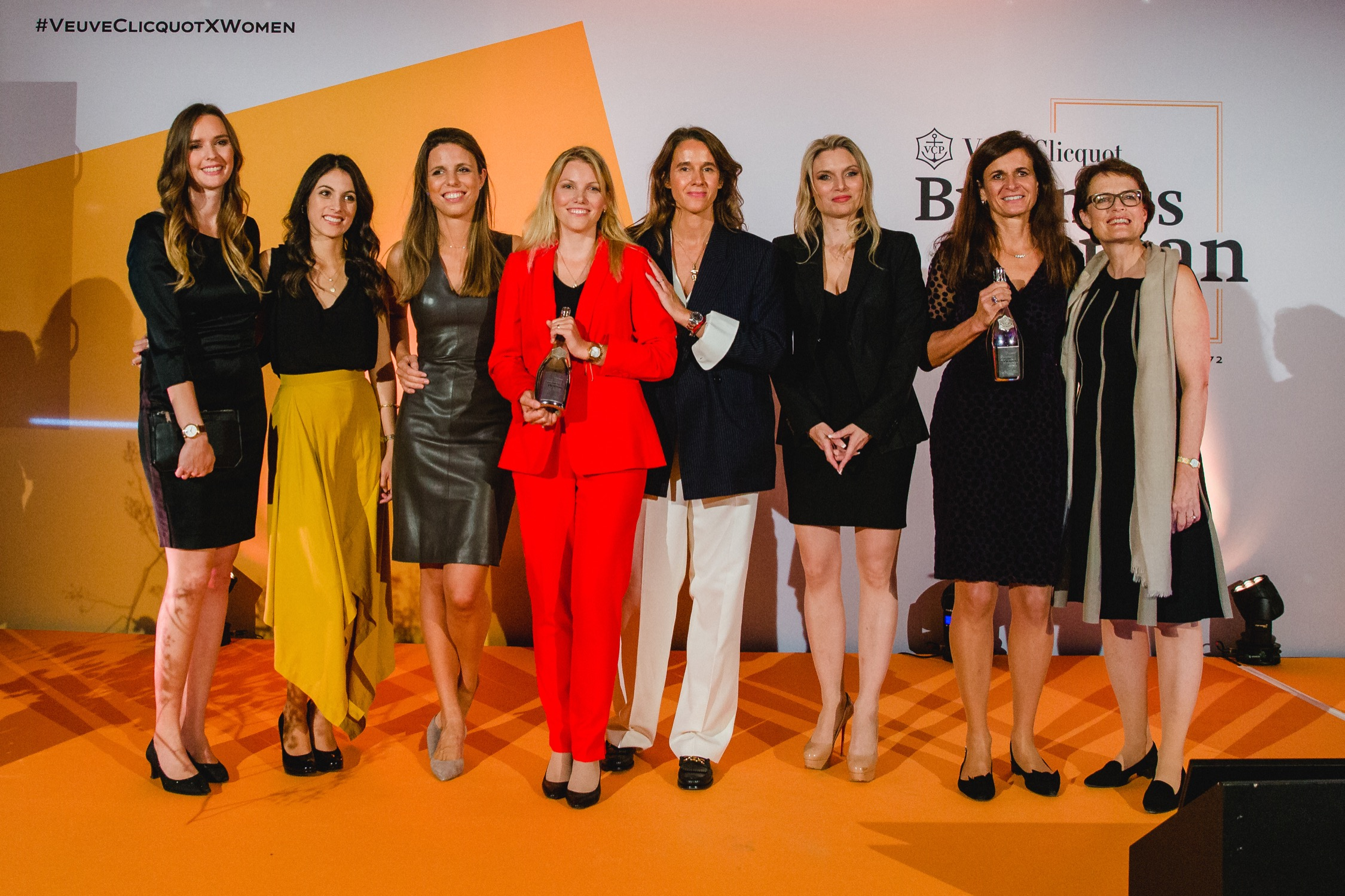 Finalists of Veuve Clicquot Business Woman Award 2019