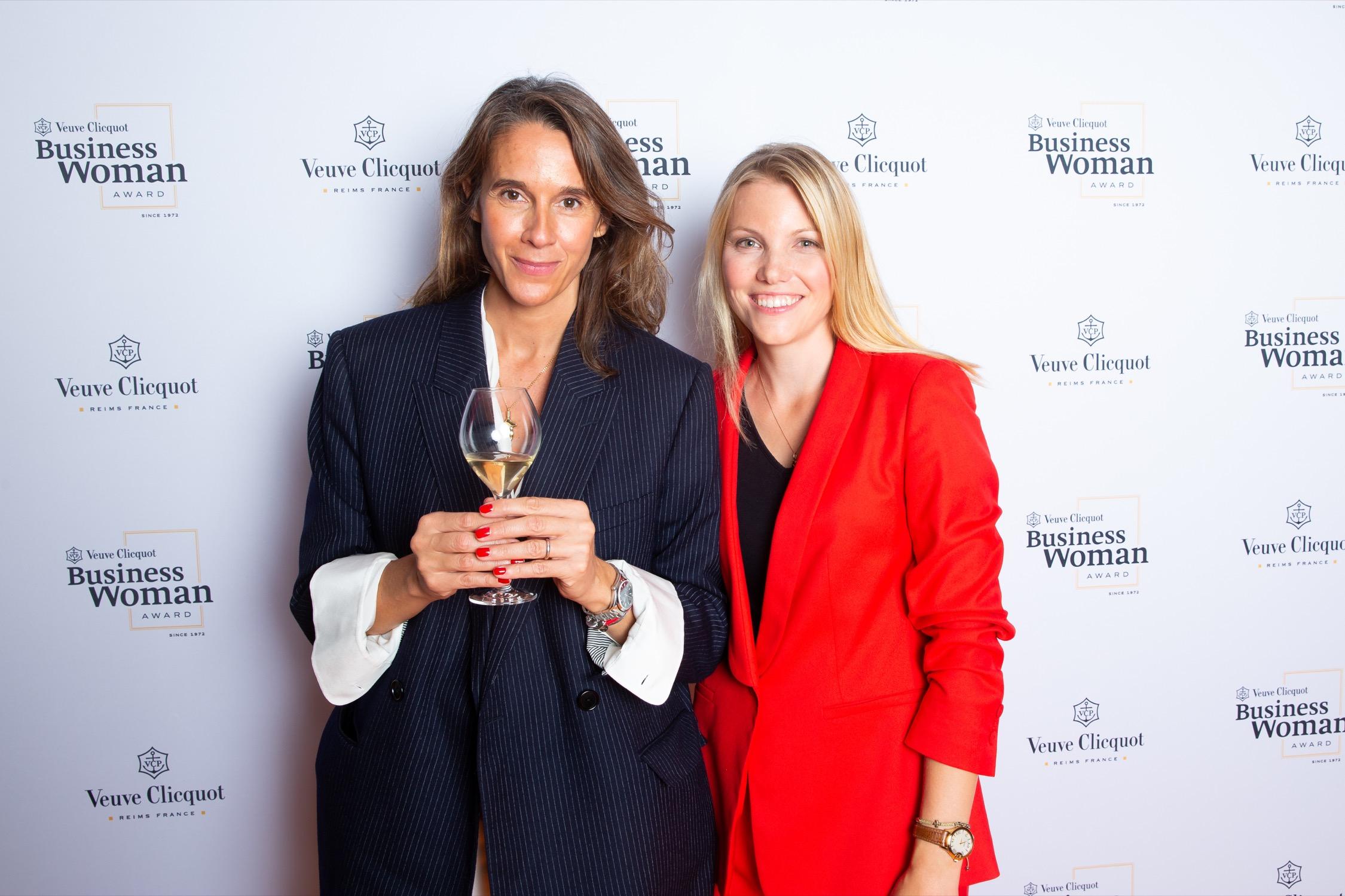 Carole Bildé and the winner of New Generation Award 2019 Olga Dubey