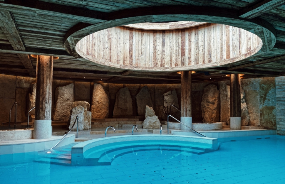 The Alpina Gstaad, Six Senses Spa