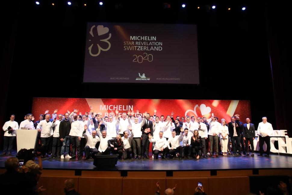 Michelin Star Revelation Event 2020 in Lugano, Switzerland