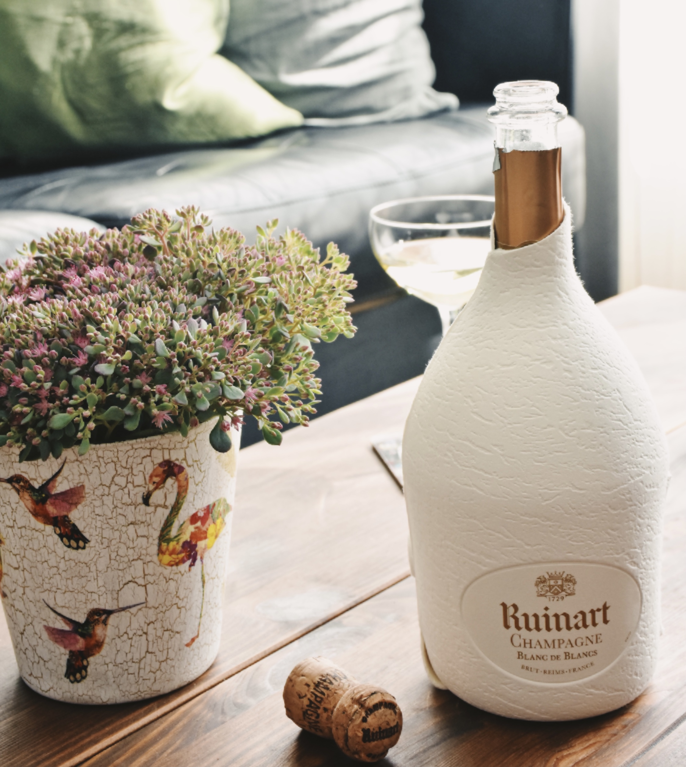 Ruinart's Second Skin is a new innovative recyclable gift packaging