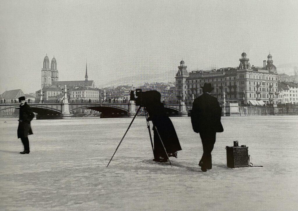 Seegfrörni 1891, Frozen Lake Zurich
