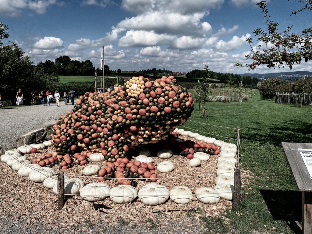 Pumpkin exhibition at the Jucker Farm, Seegräben, Zurich